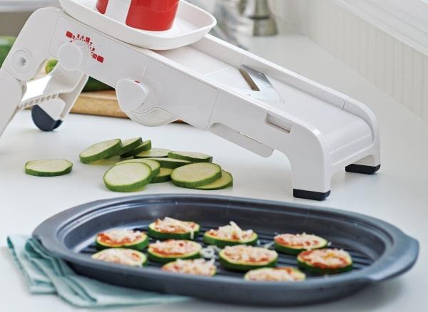 Image of Mini Zucchini Pizzas
