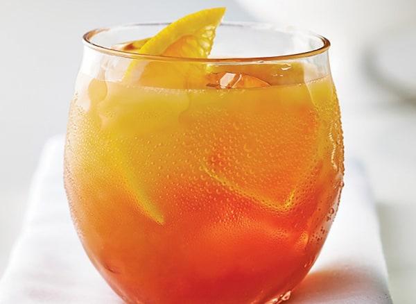 Image of Orange Pomegrante Juice