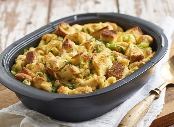 Image of Savory Stuffing Bread Pudding