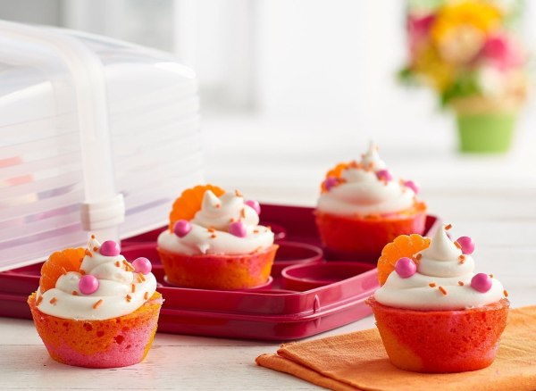 Image of Tie Dye Cupcakes