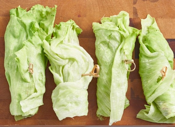 Image of Grilled Balsamic Lettuce Wraps