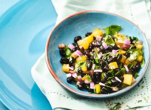 Image of Simple Black Bean Salsa