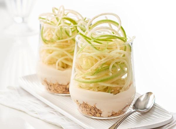 Image of Spiralized Yogurt Parfait