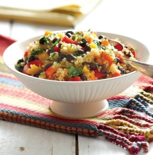 Image of Quinoa & Black Bean Salad