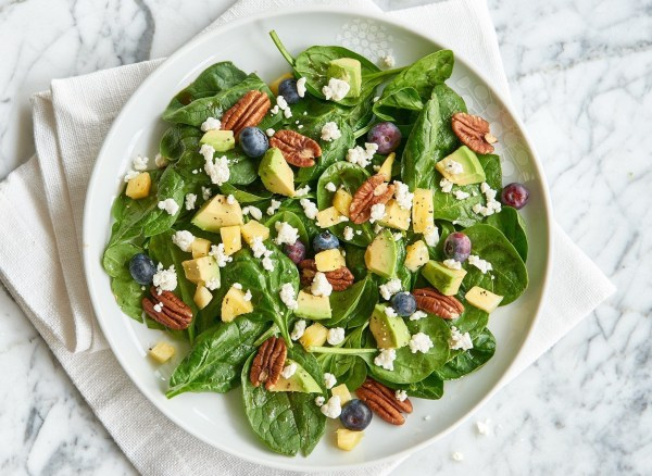 Image of Spinach Blueberry & Pineapple Salad