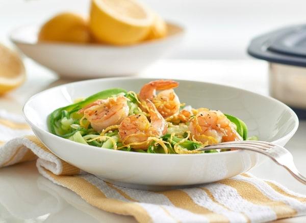 Image of Lemony Grilled Shrimp