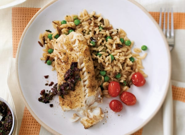 Image of Mojo Cod With Rice Pilaf