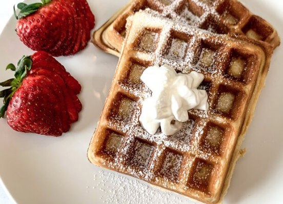 Image of The Best Waffles with Three Farm Daughters Flour