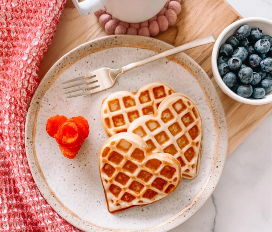 Image of Heart Waffles