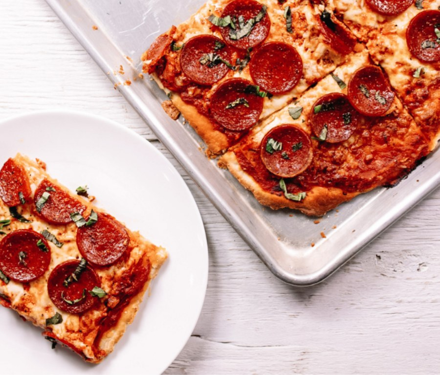 Image of Homemade Pepperoni Pizza