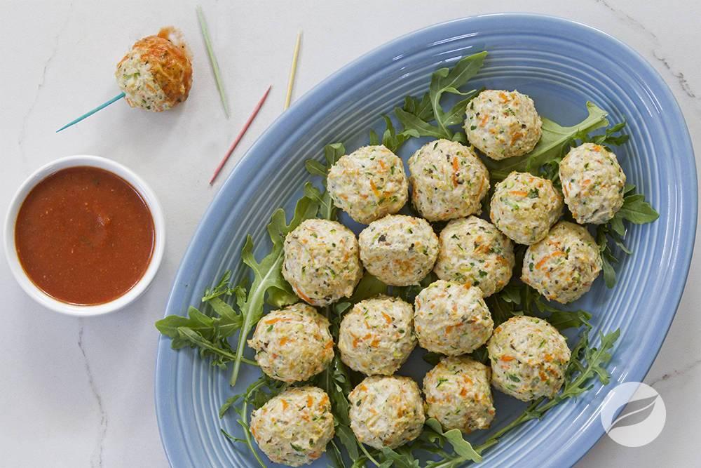 Image of Chicken Pesto Meatballs