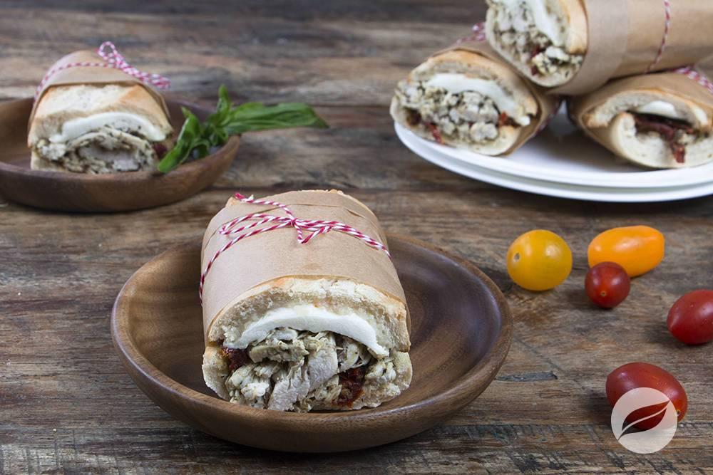 Image of Basil Pesto Chicken Sandwiches