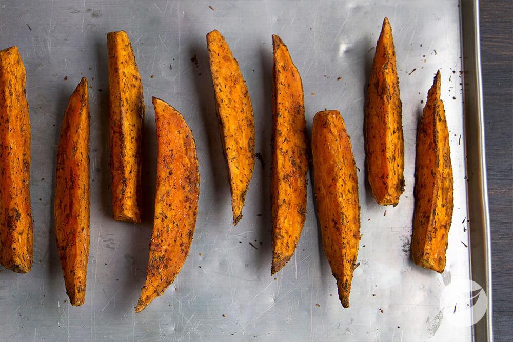Image of Cajun Sweet Potato Wedges