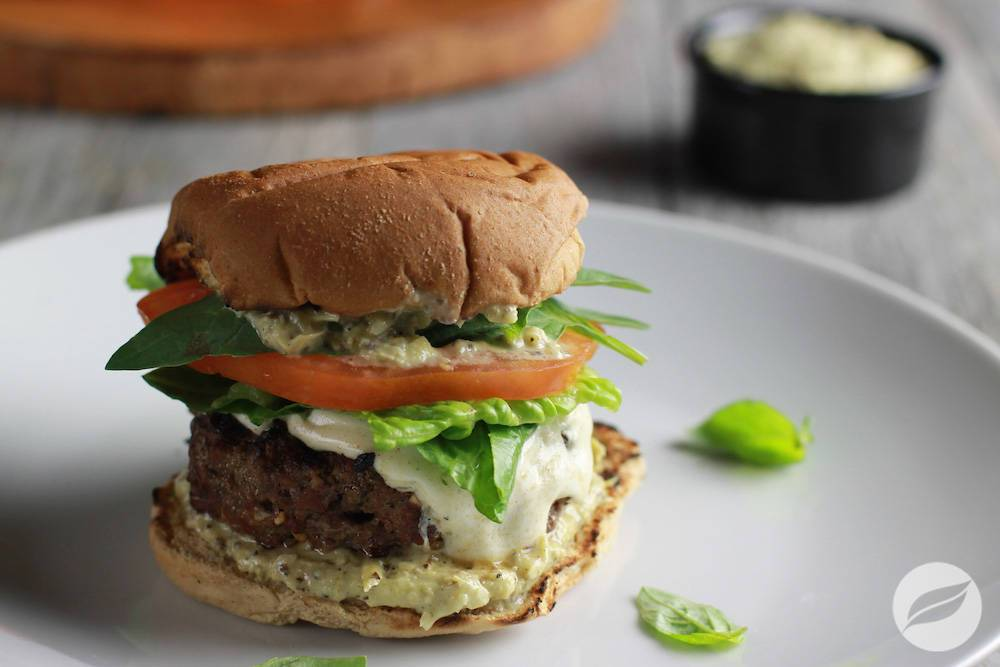 Image of Caprese Burgers