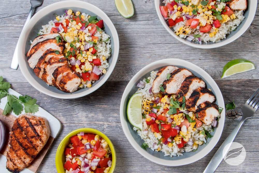 Image of Carne Asada Chicken Bowls