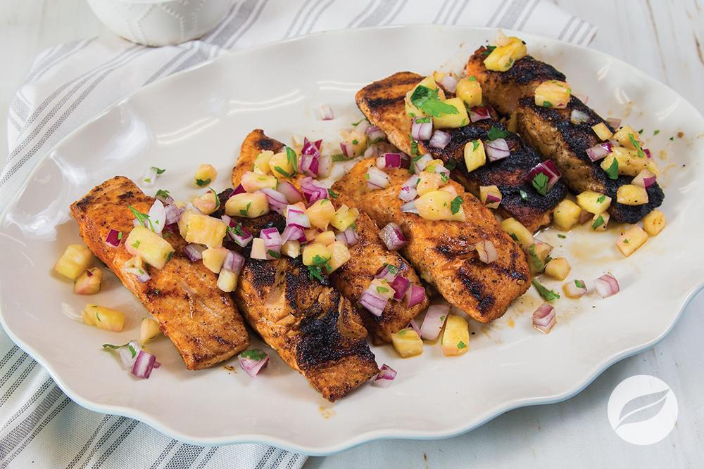 Image of BBQ Rubbed Salmon