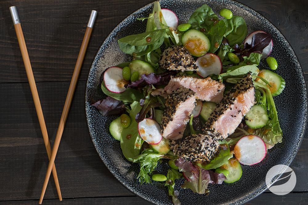 Image of Seared Ahi Tuna Salad