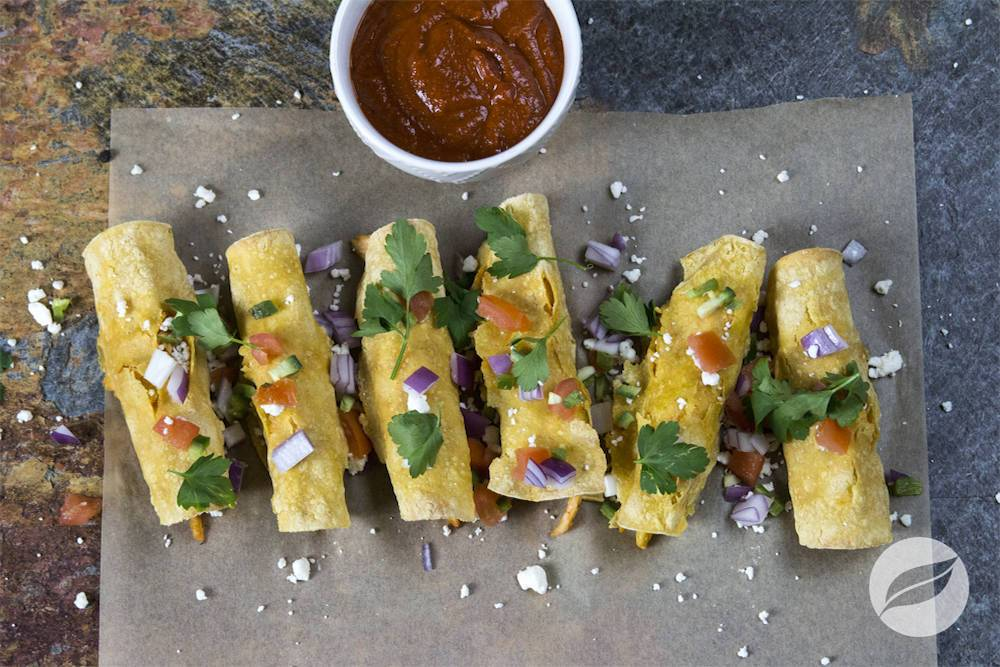 Image of Baked Chicken Taquitos