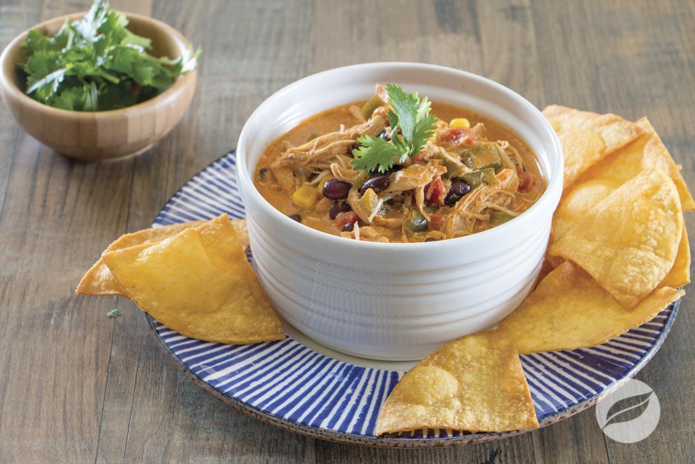 Image of Chicken Enchilada Soup