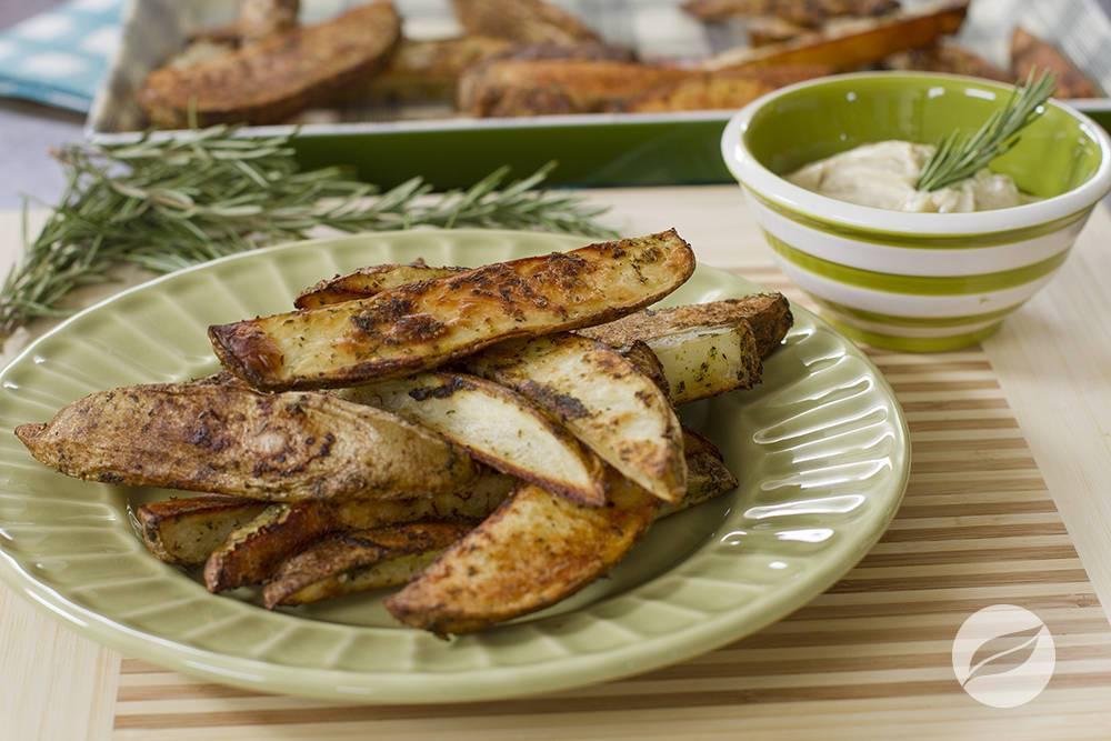 Image of Steak Fries with Lemon Rosemary Aioli