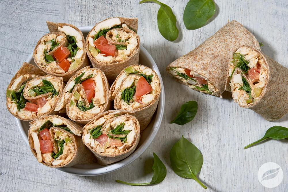 Image of Chicken Salad Wraps