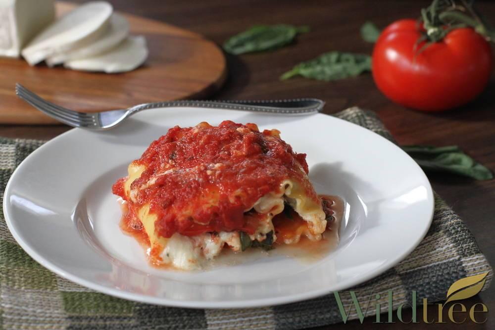 Image of Caprese Lasagna Rollups