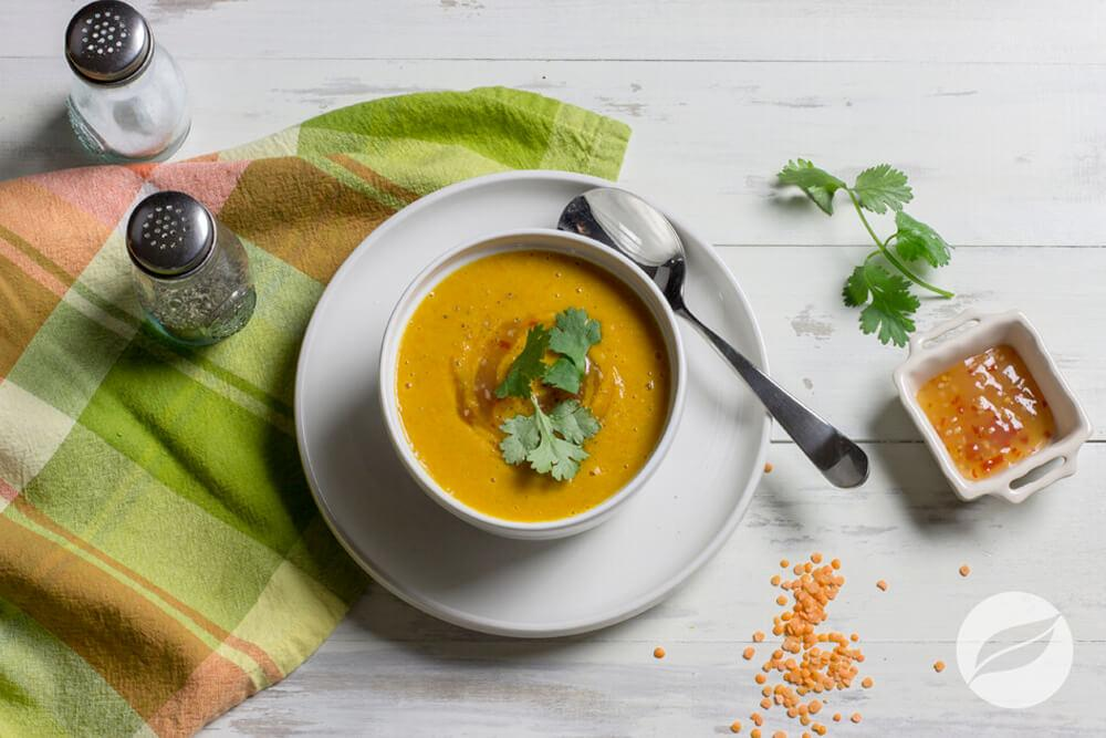 Image of Sweet & Spicy Thai Carrot Soup
