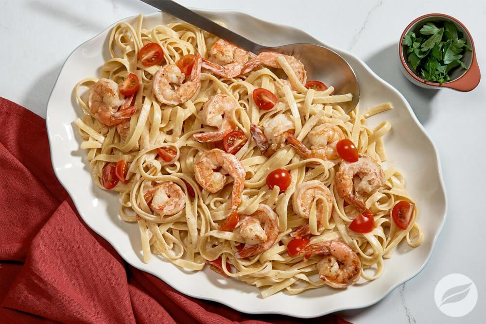Image of Creamy Shrimp Pasta