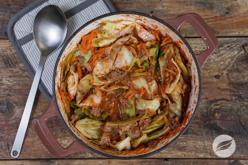 Image of Lazy Stuffed Cabbage