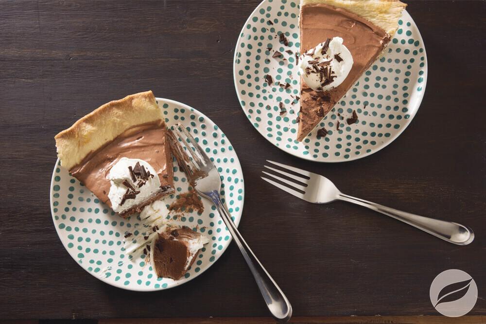 Image of Spiced Dark Chocolate Cream Pie