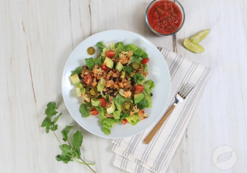 Image of Cauliflower Taco Salad