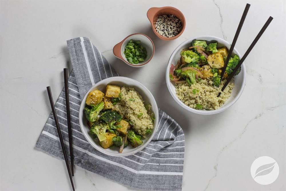 Image of Tofu & Broccoli Quinoa Bowl