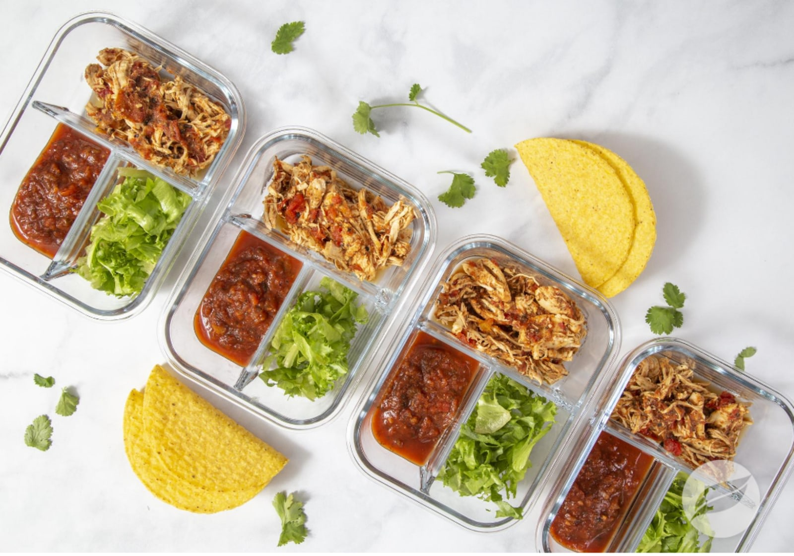 Image of Chipotle Ranch Chicken Tacos