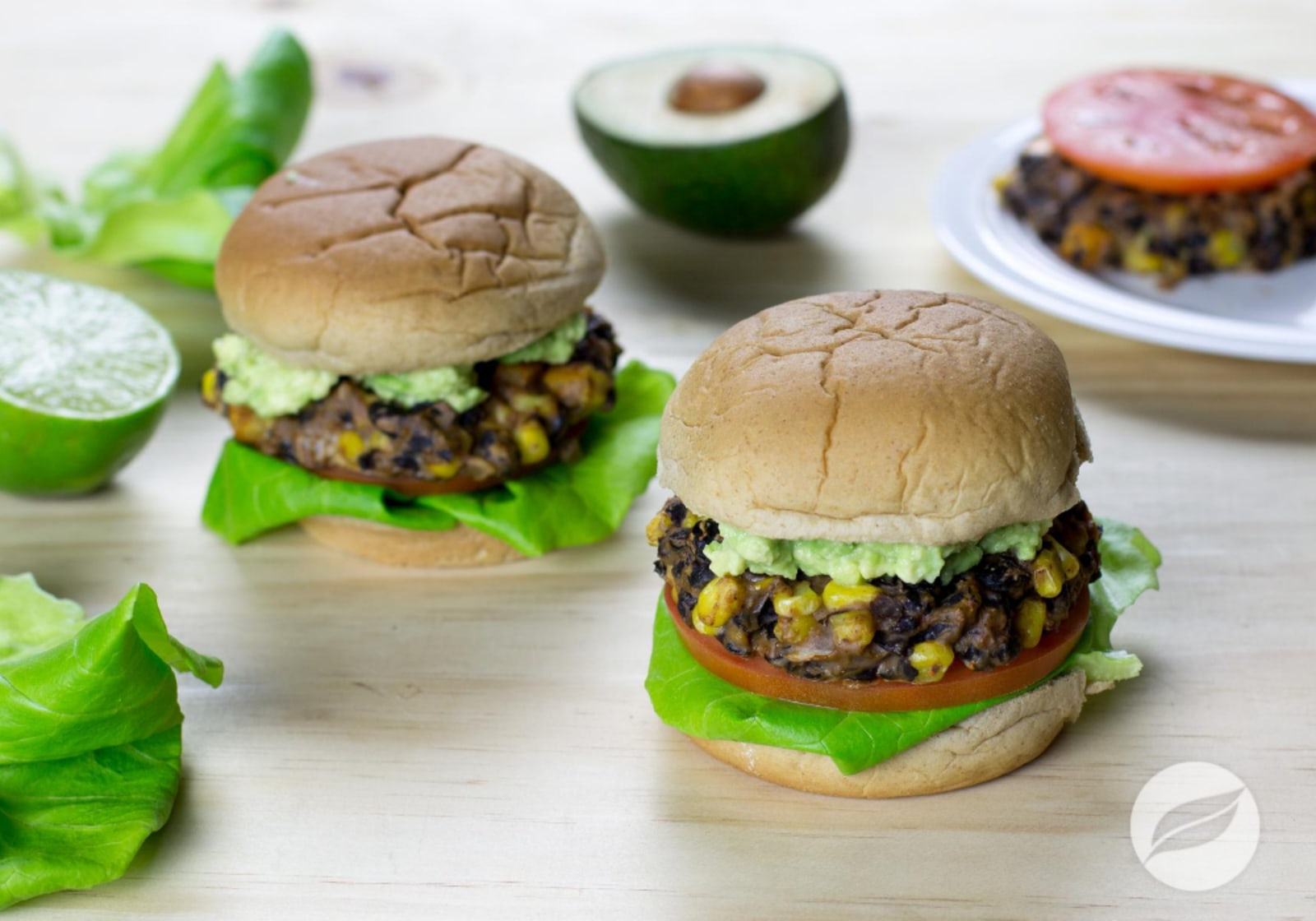 Image of Chipotle Lime Black Bean Burgers