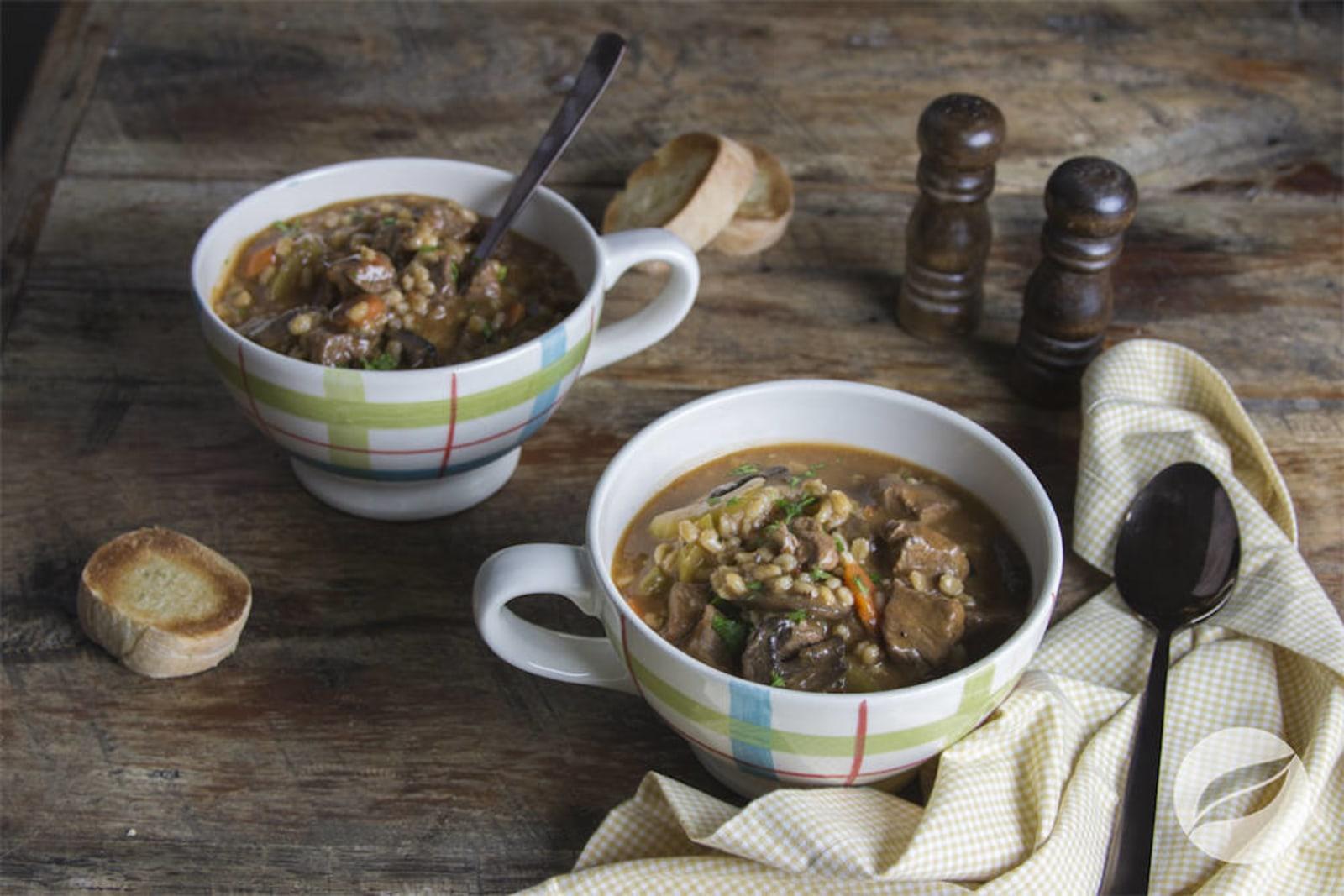 Image of Beef Mushroom Barley Soup