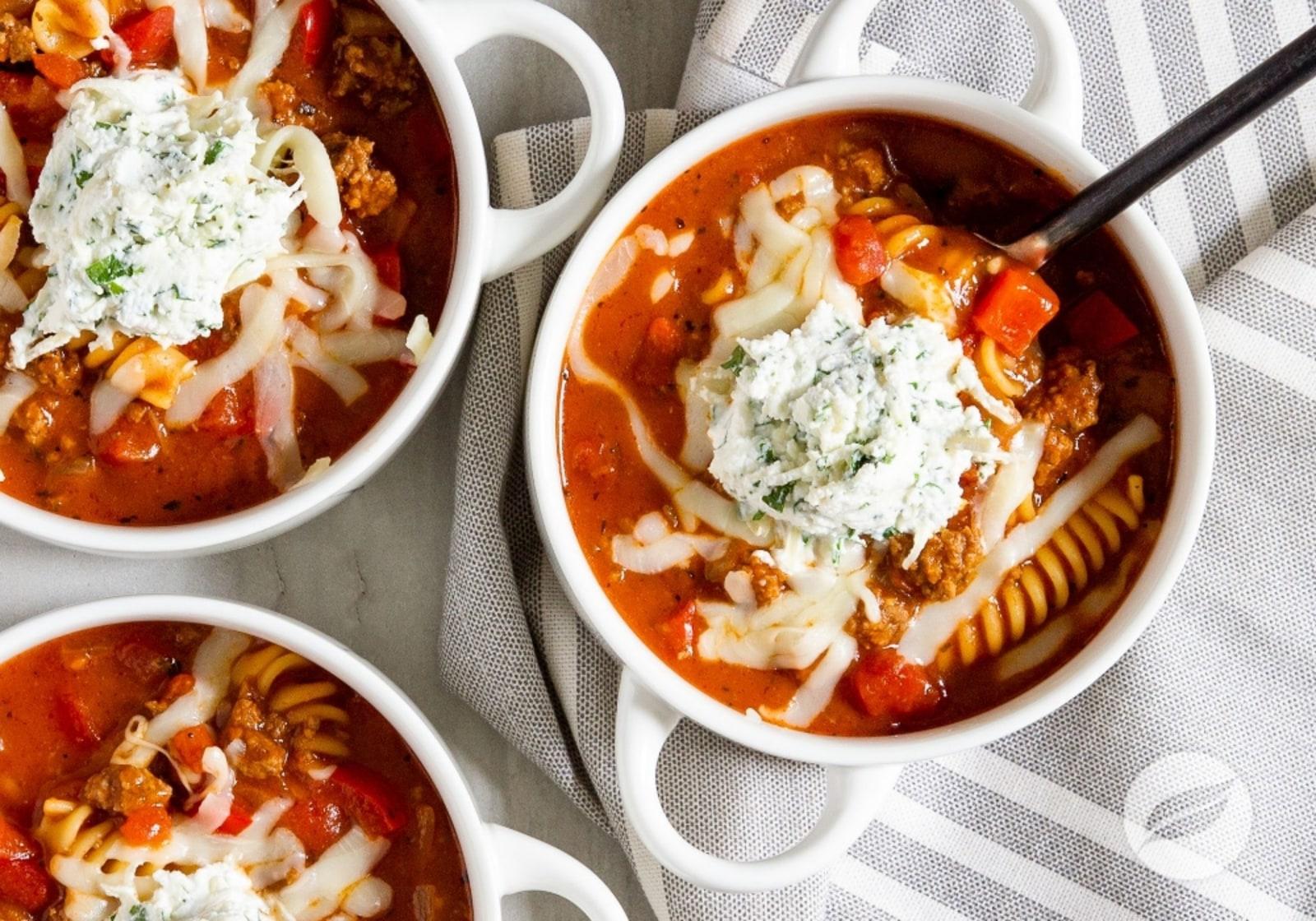 Image of Lasagna Soup