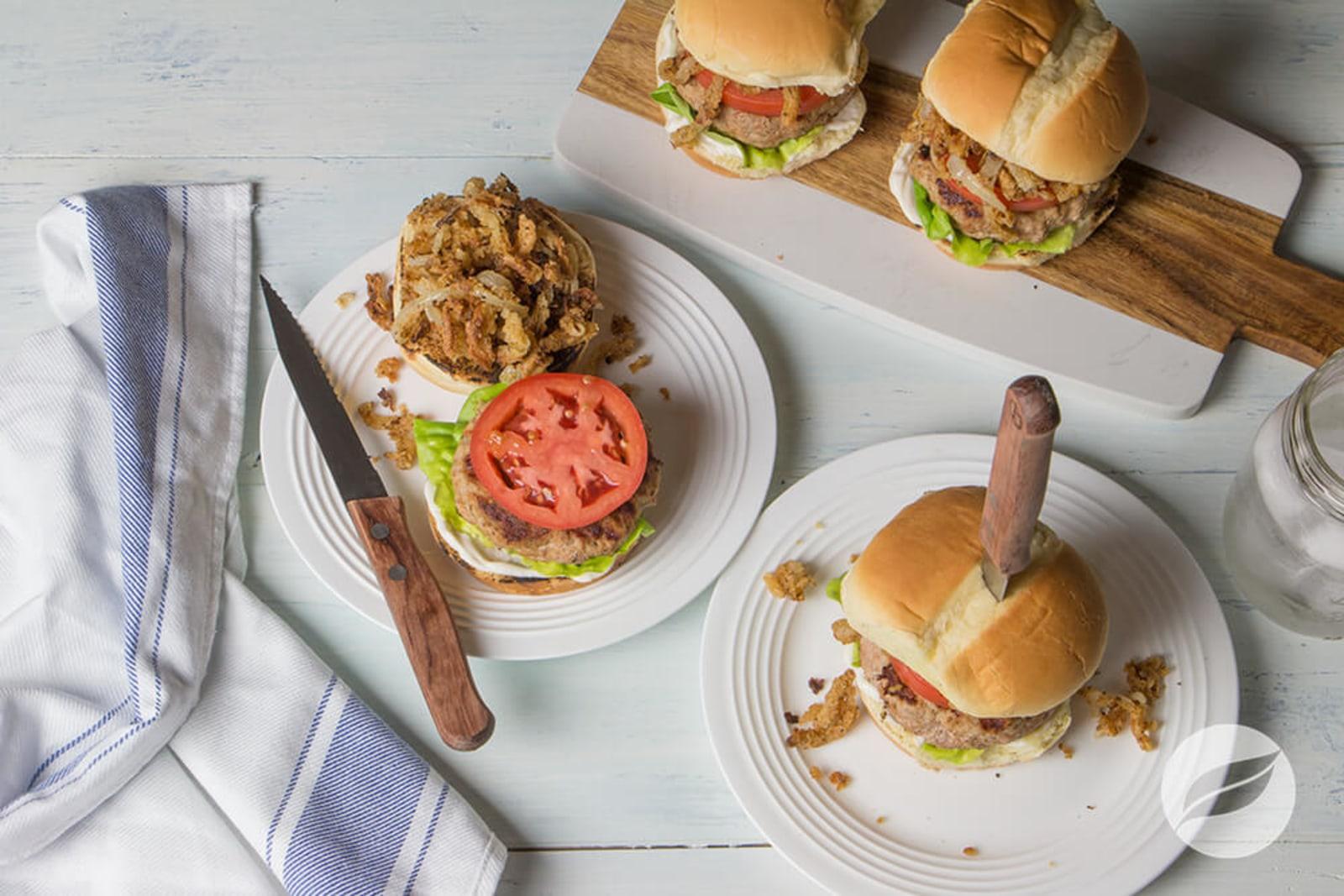 Image of Cajun Turkey Burgers