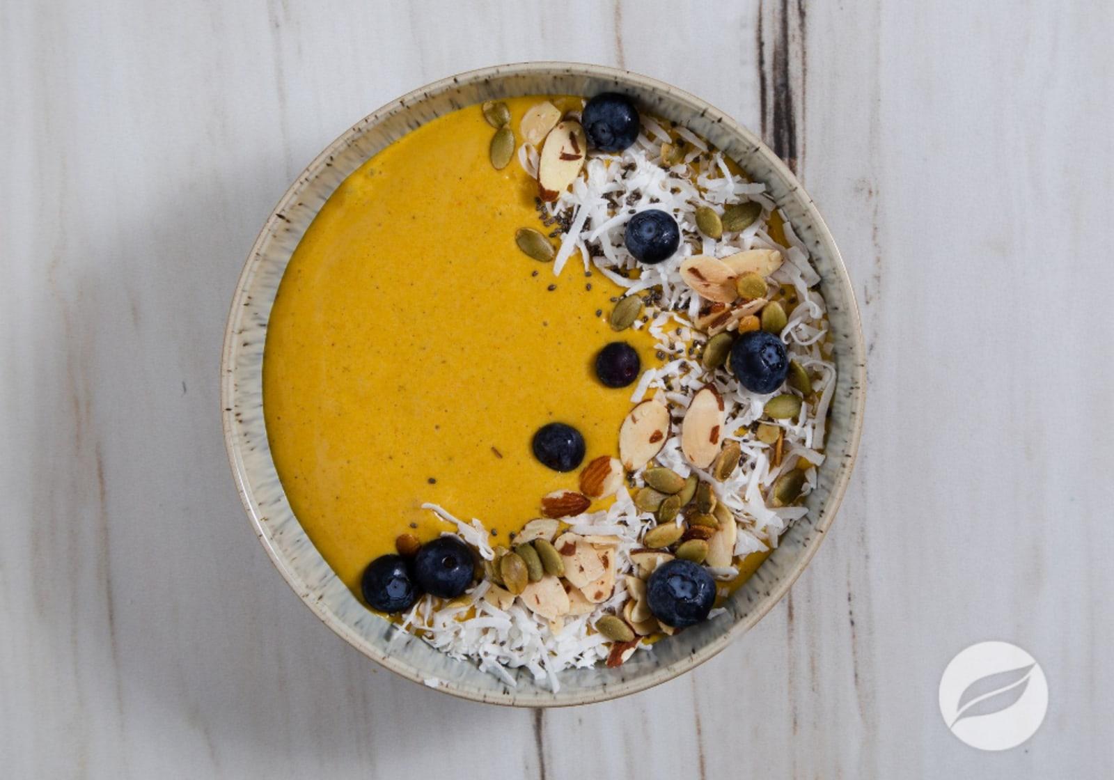 Image of Golden Milk Smoothie Bowl