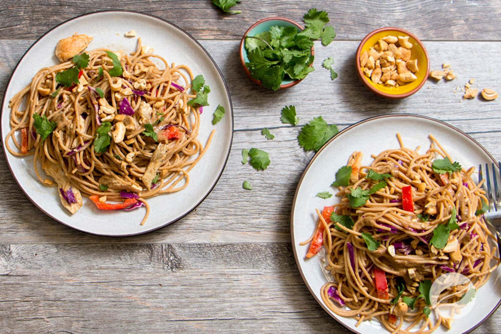 Image of Thai Chicken Noodle Salad