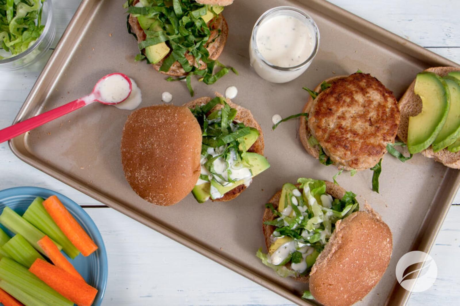Image of Buffalo Turkey Burgers