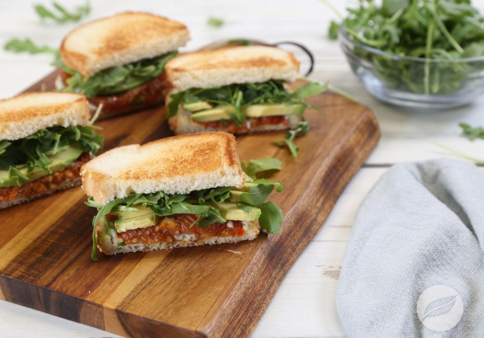 Image of Roasted Tomato Sandwiches