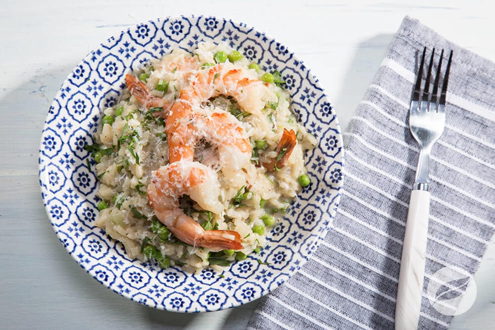 Image of Shrimp Scampi Risotto