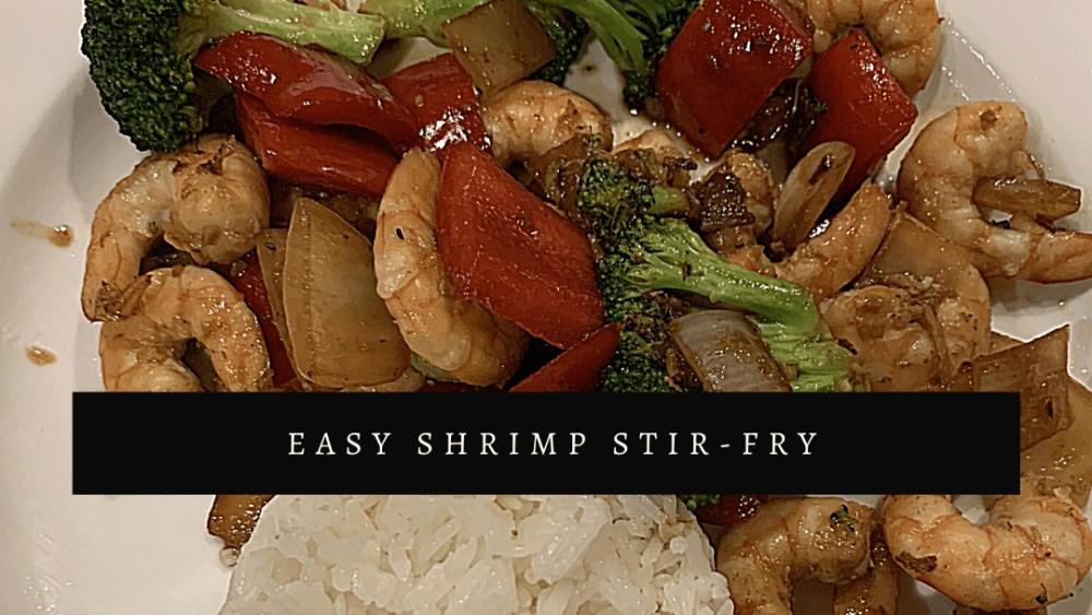 Image of Easy Shrimp Stir-fry