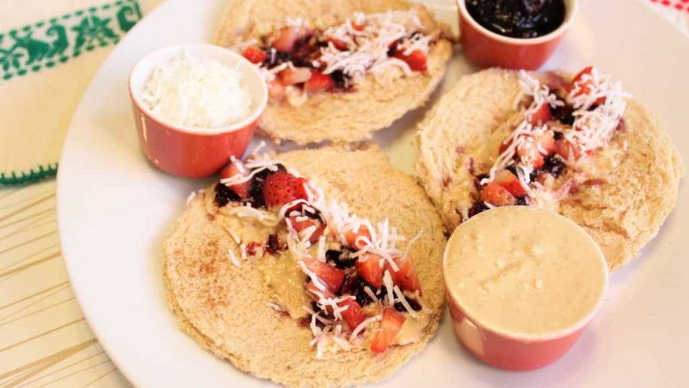 Image of Peanut Butter and Jelly Taco Fiesta