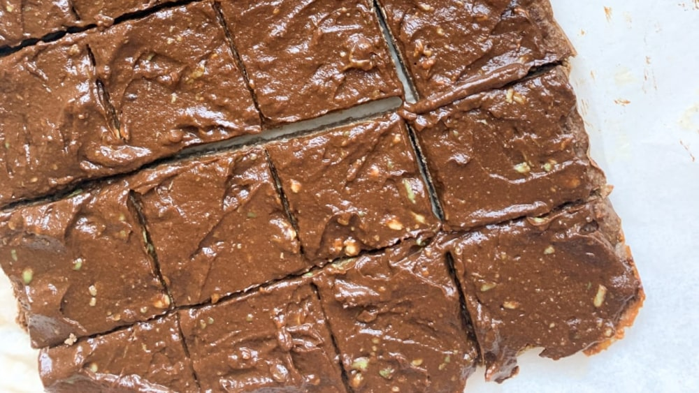 Image of PB & Chocolate Protein Brownies with Frosting