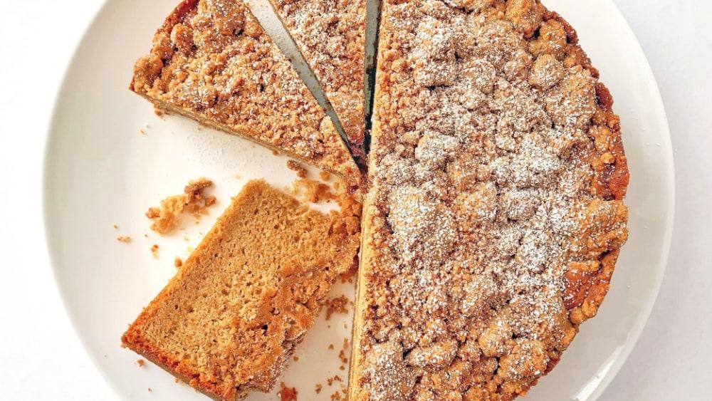 Image of Brown Butter-Cinnamon Crumb Cake