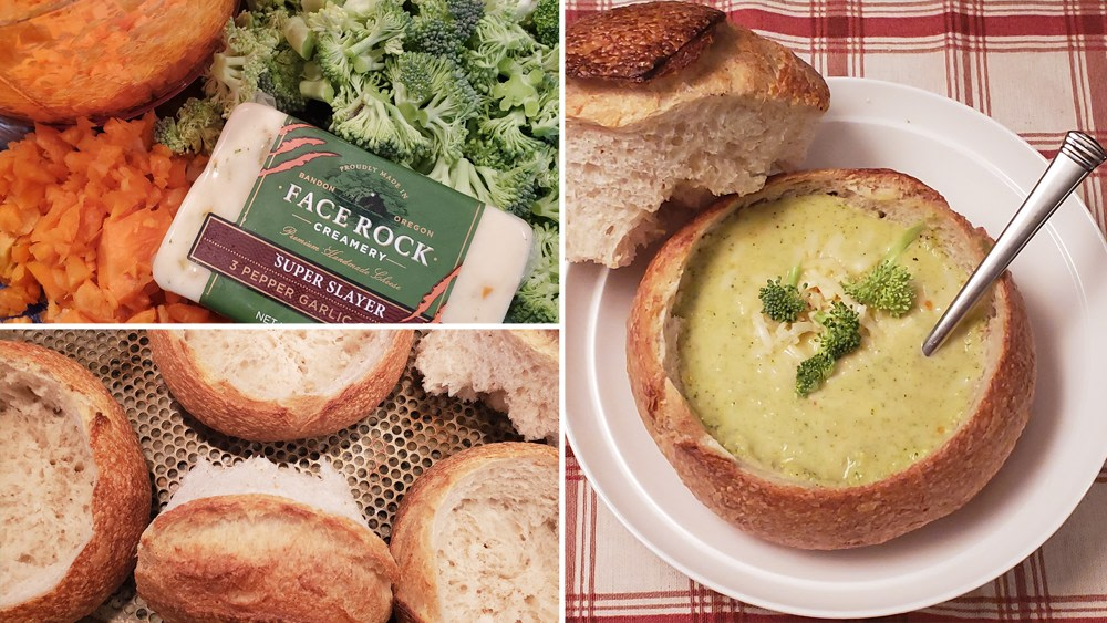 Image of Broccoli & Face Rock Cheddar Soup
