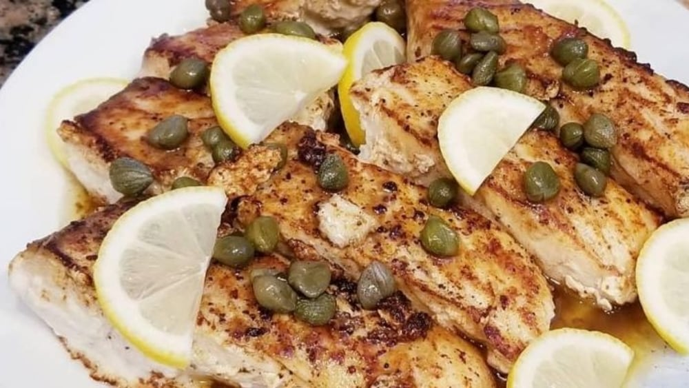 Image of Halibut Piccata
