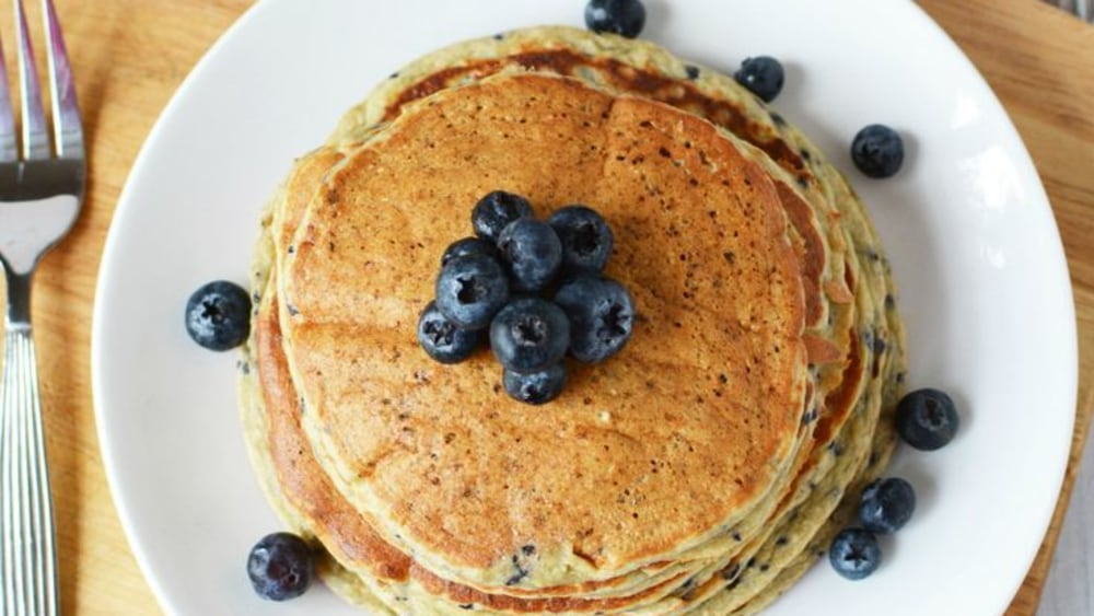 Image of Blueberry Protein Pancakes