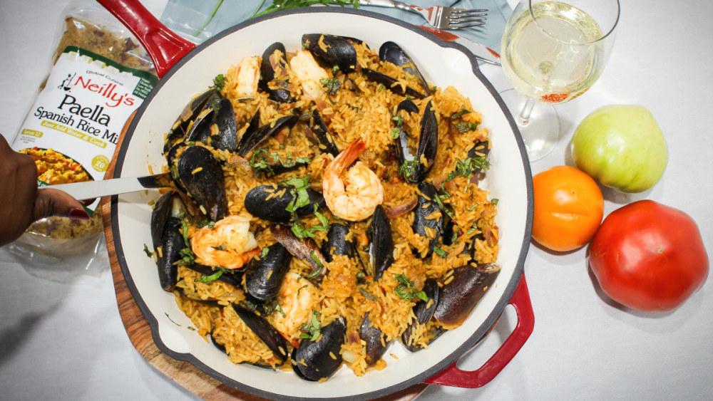 Image of Seafood Paella